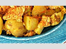 indian spicy scrambled eggs_image