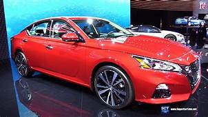 2020 Nissan Altima Platinum  Exterior And Interior