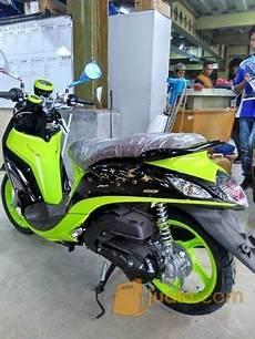 Modifikasi Fino Premium by Yamaha Fino 125 Blue Modifikasi Jakarta Selatan Jualo