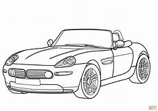 bmw sports car coloring pages 17745 bmw z8 cabriolet coloring page free printable coloring pages
