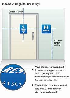 Bathroom Sign Placement by 9 Best Photos Of Signage Mounting Height Regulations Ada