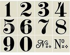 1000 Images About Stencils Numbers On