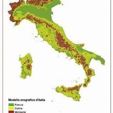 dati d italia 1 modello orografico semplificato d italia realizzato