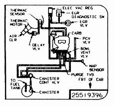 I Need A Vacuum Diagram For An 87 Cutlass With 307 Y I
