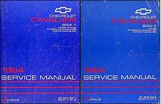 free online auto service manuals 2002 chevrolet cavalier auto manual 1994 chevrolet cavalier shop manual set 94 chevy repair service z24 vl rs books ebay