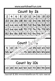 kindergarten math skip counting worksheets 11947 skip counting by 2 5 and 10 one worksheet free printable worksheets worksheetfun skip