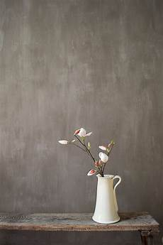 Diy A Painted Concrete Looking Wall Lime Paint