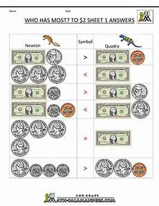 comparing money worksheets for grade 2 2632 2nd grade money worksheets up to 2