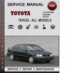 chilton car manuals free download 1996 toyota tercel electronic valve timing toyota tercel service repair manual download info service manuals