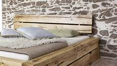 Massivholzbett Mit Bettkasten - sale balkenbett 180x200 massivholzbett mit bettkasten