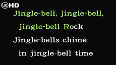 jingle bells swing and jingle bells ring jingle bell rock karaoke instrumental with lyrics hq