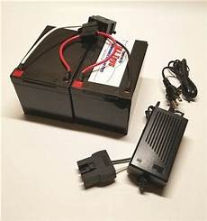 24 Volt Conversion For 12 Volt Power Wheels W Charger