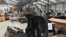 jaguar restoration uk jaguar e type found in pieces to be rebuilt
