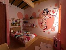 kawaii themed bedroom for decorated with