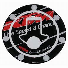 ktm powerparts fuel tank cap pad protector sticker decal for ktm duke rc bikes enfield county