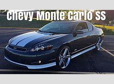 2007 Chevy Monte Carlo SS On 22's Irocs Walk Around   YouTube