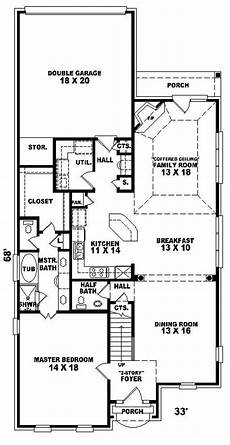 house plans and more com konica narrow lot home plan 087d 0310 house plans and more