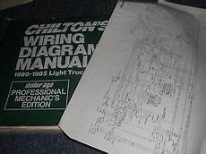 1983 Ford Bronco Oversized Wiring Diagrams Manual Sheets