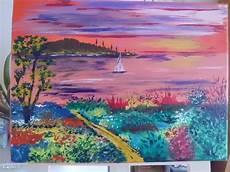 Peinture Acrylique Sur Toile Igopher Fr