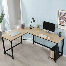 home office computer furniture l shaped computer desk for office 66 x 49 x 30