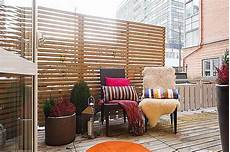 diy balcony privacy protection ideas with aesthetic appearance