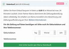 shops mit klarna ratenkauf 187 220 bersicht der onlineshops