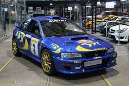 Colin McRaes 1997 Subaru Impreza WRC Is For Sale