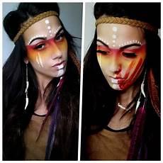 Indianer Make Up - 1001 kreative ideen f 252 r ein einfaches make up