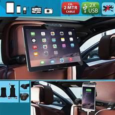 porta usb per auto porta tablet smartphone supporto auto poggiatesta con