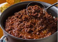 Chili Con Carne Rezept Original - classic chili con carne recipe nyt cooking