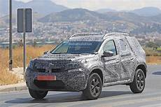 2019 Dacia Duster Spied For The Time Prototype