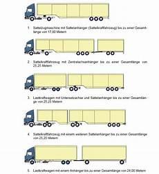 lkw arten und abmessungen richtlinien f 252 r lastz 252 ge und lastzugkombinationen quot lang lkw quot in deutschland