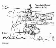 on board diagnostic system 2001 ford windstar user handbook where is the on board diagnostics computer located