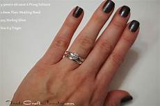 classic 6 prong cz engagement ring solitaires plain wedding band opt tradecraft jewelry