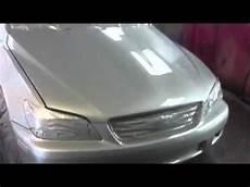lexus is 300 custom paint silver pearl youtube