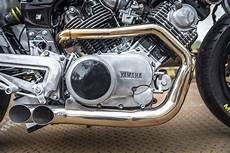 Yamaha Virago Cafe Racer Exhaust