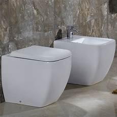 vaso bagno metropolitan rak sanitari coppia vaso bidet filomuro e
