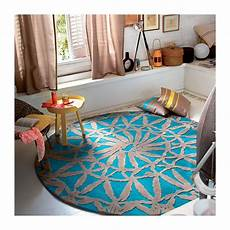 Tapis Salon Rond Tapis Rond De Salon Turquoise Esprit Home Lounge