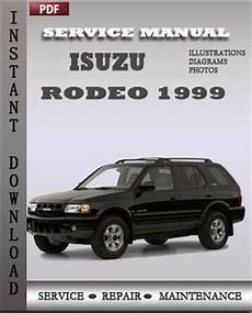 how to download repair manuals 2003 isuzu rodeo electronic valve timing isuzu rodeo 1999 service manual download repair service manual pdf