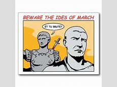 soothsayer beware ides of march