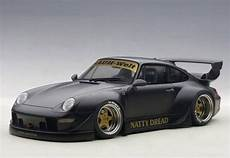 porsche 993 rwb autoart porsche rwb 993 1 18 model car 78154 matt black