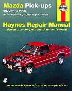 motor auto repair manual 1985 mazda b2000 electronic valve timing mazda pick ups 2wd 4wd 1972 1993 haynes owners service repair manual 1563920840