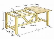 tisch selber bauen das fertig verleimte untergestell