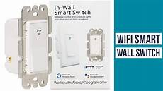 moes wifi smart wall light switch smart light switch assistant youtube