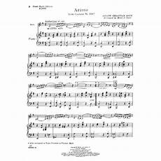 bach js arioso from cantata no 156 violin and piano arranged by merle j isaac carl