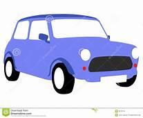 Blue Car Illustration Royalty Free Stock Images  Image