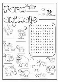 farm animals worksheets esl 13859 farm animals esl worksheet by joannaturecka
