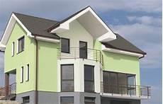 Fassadenfarbe Beispiele Gestaltung - ideen f 252 r die farbgestaltung fassaden alpina drau 223 en