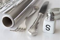 silber reinigen hausmittel und andere