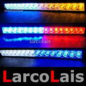 16 LED High Power Strobe Lights Fireman Flashing Police